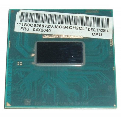 Intel Core i3-4100M 2.5Ghz 3Mb Cache Socket G3