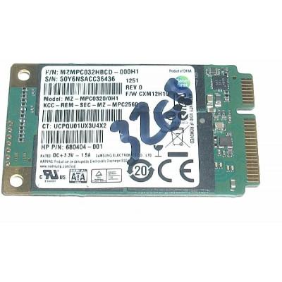 Samsung 32GB SSD mSATA Mini PCI-E MZMPC032HBCD
