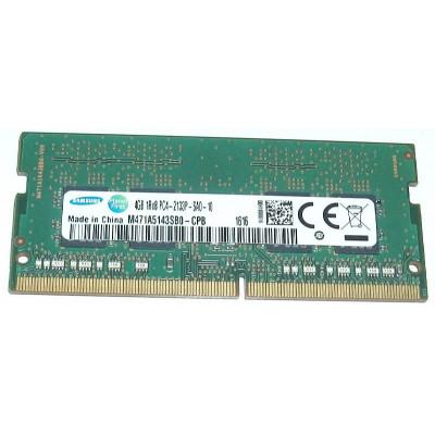 Samsung 4GB PC4-2133P DDR4-2133Mhz SODIMM
