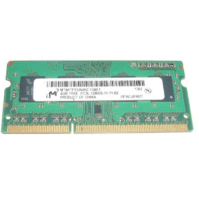 Micron 4GB PC3L-12800s DDR3-1600Mhz SODIMM