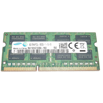 Samsung 8GB PC3L-12800 DDR3-1600Mhz  SODIMM