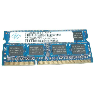 Nanya 4GB PC3-12800s DDR3-1600Mhz SODIMM