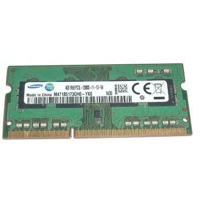 Samsung 4GB PC3L-12800s DDR3-1600Mhz SODIMM