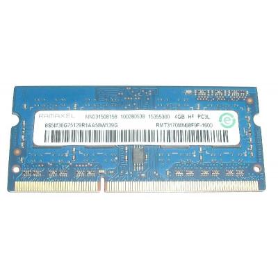Ramaxel 4GB PC3L-12800s DDR3-1600Mhz SODIMM