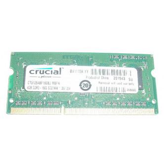 Crucial 4GB PC3-12800s DDR3-1600Mhz SODIMM