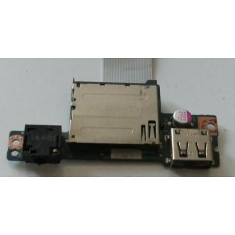 Платка с четец за карти и аудио жак за Lenovo IdeaPad G50-30 G50-70