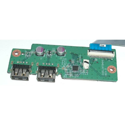 Платка с 2 USB порта и четец за карти за Lenovo IdeaPad U430 Touch
