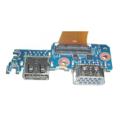 Платка с USB порт и VGA за HP EliteBook 850 G3