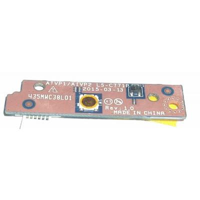 Платка с бутон за пускане за Lenovo Ideapad 100-15iby