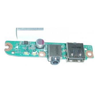 Платка с USB порт и аудио жак за HP Pavilion 15-n TouchSmart