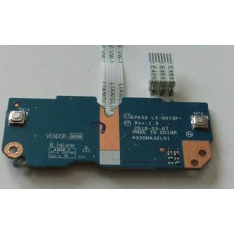 Платка с бутони за тъчпад за HP 15-DA 15-DB 15-DR 250 G7 255 G7