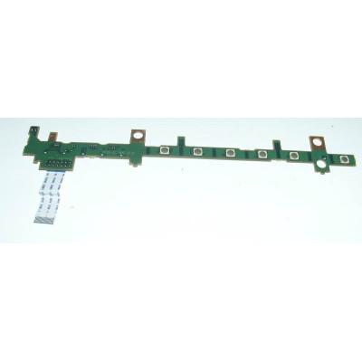 Платка с бутон за пускане и мултимедийни бутони за Fujitsu LifeBook S752