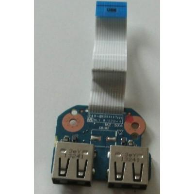Платка с 2 USB порта за HP 250 G1 255 G1