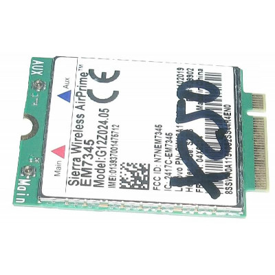 Sierra Wireless EM7345 LTE M.2 4G за Lenovo ThinkPad X250