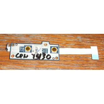 Платка с бутон за пускане за Lenovo IdeaPad Y430