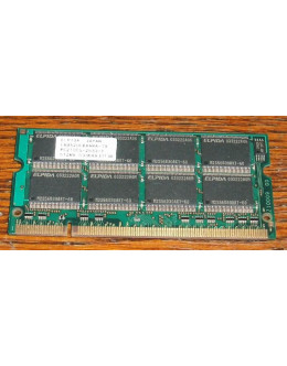 Elpida 512MB DDR PC-2100s SODIMM