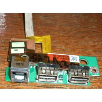 Платка с 2 USB порта и модем порт rj11за Toshiba Satellite Pro A300