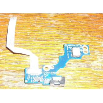 Платка с бутон за пускане за Dell Latitude E6400