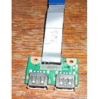 Платка с 2 USB порта за HP Compaq Presario Cq57