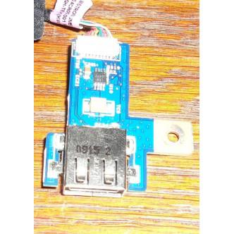 Платка с бутон за пускане и USB порт за Acer Aspire 5810T
