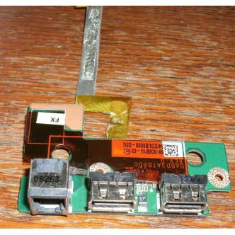 Платка с 2 USB порта и модем порт за Toshiba Satellite P300