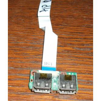 Платка с 2 USB порта за HP Pavilion DV6-1000