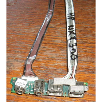 Платка с 2 USB порта и аудио жакове за HP NX7300