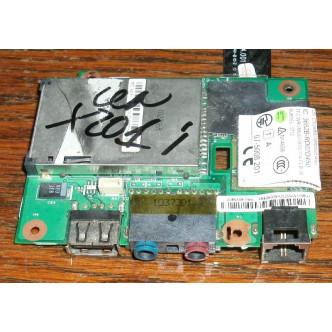 Платка с USB порт, аудио жакове, sd четец, модем за таблет IBM Lenovo Thinkpad X201 X201i