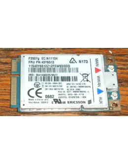 3G модем + GPS Ericsson F3507g Mobile Broadband Module за Lenovo Thinkpad X200