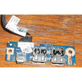 Платка с 2 USB порта и firewire за Dell Vostro 1510 1520 2510