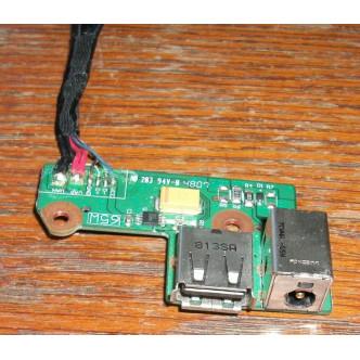 Платка с букса за захранване и USB за HP G6000