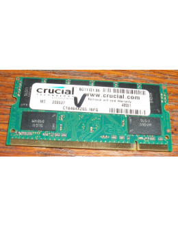 Crucial 512MB DDR PC-2100 SODIMM