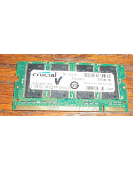 Crucial 512MB DDR333 PC-2700 SODIMM