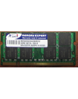 A-data 1Gb DDR2 PC2-5300S SODIMM